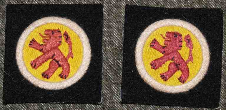 15th (Scottish) Division repro bavlna